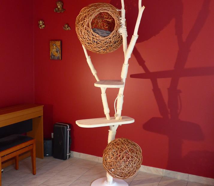 kratzbaum nest katzenbaum design treestyle. Black Bedroom Furniture Sets. Home Design Ideas