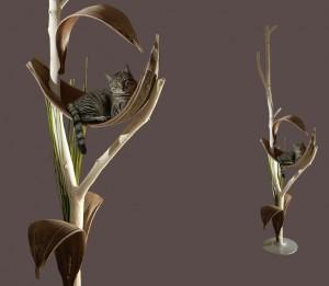 katzenbaum design kratzbaum katzenm bel naturholz treestyle der baum im raum. Black Bedroom Furniture Sets. Home Design Ideas