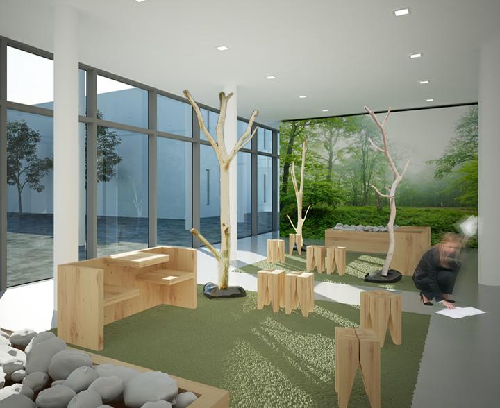 Katzenbaum design kratzbaum katzenm bel naturholz for Garderobe naturholz